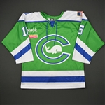 Long, Micaela<br>Green - Preseason Only<br>Connecticut Whale 2016-17<br>#16 Size: 48