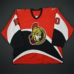 Dahlman, Toni *<br>Red 1st Regular Season<br>Ottawa Senators 2002-03<br>#10 Size: 56