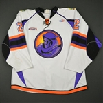 Mayfield, Scott *<br>White<br>Youngstown Phantoms 2009-10<br>#2 Size: XXL