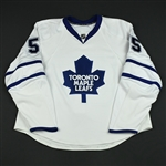 Blake, Jason<br>White Set 1 (RBK 1.0)<br>Toronto Maple Leafs 2007-08<br>#55 Size: 58