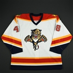 Leavitt, Alex<br>White Set 1 - Training Camp Only<br>Florida Panthers 2006-07<br>#48 Size: 56