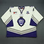 Grover, Donny<br>White Set 1<br>Reading Royals 2007-08<br>#4 Size: 56