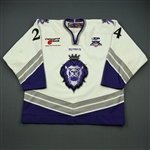 Hemingway, Brett<br>White Set 1<br>Reading Royals 2007-08<br>#24 Size: 56