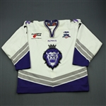 Hersley, Patrik<br>White Set 1<br>Reading Royals 2007-08<br>#7 Size: 56