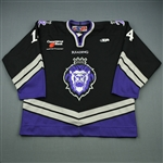 Jarrett, Patrick<br>Black Set 1<br>Reading Royals 2007-08<br>#14 Size: 56