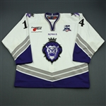 Jarrett, Patrick<br>White Set 1<br>Reading Royals 2007-08<br>#14 Size: 56
