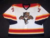 Gratton, Chris<br>White Set 2 GI<br>Florida Panthers 2006-07<br>#77 Size: 58