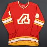 Harvey, Buster * <br>Red<br>Atlanta Flames 1974-75<br>#8 Size:48