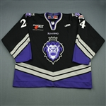 Christiansen, Doug<br>Black Set 1<br>Reading Royals 2006-07<br>#24 Size: 58