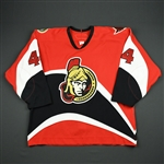 Eaves, Patrick<br>Red Set 2<br>Ottawa Senators 2006-07<br>#44 Size: 56