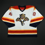 Jacina, Greg<br>White Set 2 GI<br>Florida Panthers 2006-07<br>#40 Size: 54