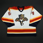 Kreps, Kamil<br>White Set 2<br>Florida Panthers 2006-07<br>#54 Size: 56