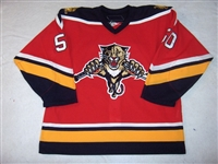 Larman, Drew<br>Third Set 1<br>Florida Panthers 2006-07<br>#50 Size: 56