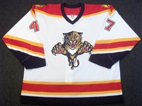 Lojek, Martin<br>White Set 1<br>Florida Panthers 2006-07<br>#47 Size: 56