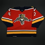 Lojek, Martin<br>Third Set 1<br>Florida Panthers 2006-07<br>#47 Size: 56