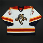 Stewart, Anthony<br>White Set 1 GI<br>Florida Panthers 2006-07<br>#57 Size: 56