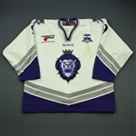 MacMillan, Malcolm<br>White Set 1 (w/A removed)<br>Reading Royals 2007-08<br>#9 Size: 56