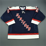 Pock, Thomas<br>Navy Set 1<br>Hartford Wolf Pack 2006-07<br>#22 Size: 56