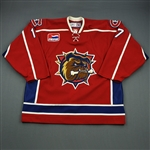 Chipchura, Kyle<br>Red Calder Cup Finals<br>Hamilton Bulldogs 2006-07<br>#17 Size: 56
