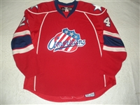 Stewart, Anthony<br>Red Set 1<br>Rochester Americans 2007-08<br>#24 Size: 58