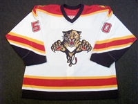 Larman, Drew<br>White Set 2<br>Florida Panthers 2006-07<br>#50 Size: 56