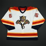 Olesz, Rostislav<br>White Set 2<br>Florida Panthers 2006-07<br>#85 Size: 56