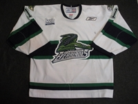 Shantz, David<br>White Set 1<br>Florida Everblades 2006-07<br>#1 Size: 58G