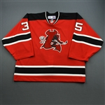 Naumenko, Gregg<br>Red Set 1<br>Lowell Devils 2006-07<br>#35 Size: 58G