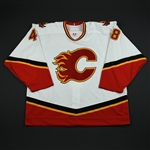 Bellemare, Thomas<br>White Set 1 GI<br>Calgary Flames 2006-07<br>#48 Size: 58