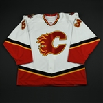Cunning, Cam<br>White Set 1 GI<br>Calgary Flames 2006-07<br>#53 Size: 56