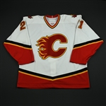 Hale, David<br>White Set 3 / Playoffs<br>Calgary Flames 2006-07<br>#21 Size: 56