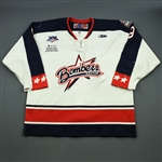 Berry, Mike<br>White Set 1<br>Dayton Bombers 2007-08<br>#9 Size: 56