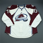 Gaunce, Cameron<br>White Set 1 - Game-Issued (GI)<br>Colorado Avalanche 2009-10<br>#73 Size: 58