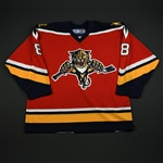 NNOB<br>Third Set 1 GI<br>Florida Panthers 2006-07<br>#8 Size: 54