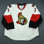 Foligno, Nick<br>White Set 2<br>Ottawa Senators 2009-10<br>#71 Size: 58