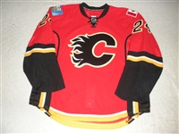 Conroy, Craig<br>Red Set 2<br>Calgary Flames 2008-09<br>#24 Size: 58