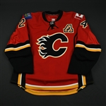 Conroy, Craig<br>Red Set 3 / Playoffs<br>Calgary Flames 2008-09<br>#24 Size: 58