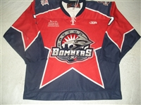 Wilson, Brock<br>Red Set 1<br>Dayton Bombers 2008-09<br>#7 Size: 56