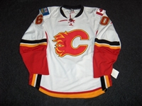 Backlund, Mikael<br>White Set 1 GI (RBK 1.0)<br>Calgary Flames 2007-08<br>#70 Size: 58