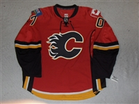 Jonsson, Per<br>Red Set 1 GI (RBK 1.0)<br>Calgary Flames 2007-08<br>#70 Size: 58