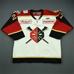 Tomko, Slavomir<br>White Set 1<br>Wheeling Nailers 2009-10<br>#27 Size: 54