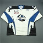 Craig, Matt<br>White Set 1 w/Kelly Cup Patch<br>Idaho Steelheads 2007-08<br>#37 Size: 56