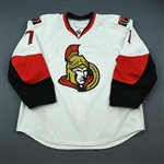 Foligno, Nick <br>White Set 1<br>Ottawa Senators 2009-10<br>#71 Size: 58