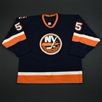 Blake, Jason * <br>Navy Set 2<br>New York Islanders 2005-06<br>#55 Size: 54