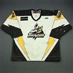 Blackwater, Judd<br>White Set 1 w/5th Anniv. Patch<br>Stockton Thunder 2009-10<br>#23 Size: 54