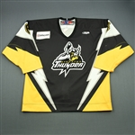 MacAulay, Kenny<br>Black Set 1 (A removed)<br>Stockton Thunder 2009-10<br>#6 Size: 54