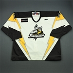 ODette, Matt<br>White Set 1 w/5th Anniv. Patch<br>Stockton Thunder 2009-10<br>#2 Size:58