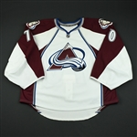 Delmas, Peter<br>White Set 1 - Game-Issued (GI)<br>Colorado Avalanche 2008-09<br>#70 Size: 58G