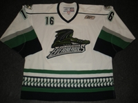 Nicholson, Colin<br>White Set 1<br>Florida Everblades 2009-10<br>#16 Size: 56