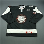 Ross, Nick<br>Black Set 1<br>Las Vegas Wranglers 2009-10<br>#17 Size: 58